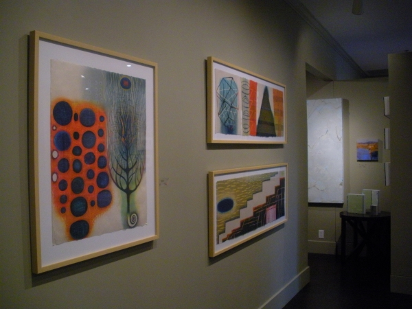 """Paper 2 exhibition at Gallery Shoal Creek, Austin, Texas, September"""