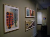 "Thumbnail image of ""Paper 2 exhibition at Gallery Shoal Creek, Austin, Texas, September"""