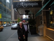 "Thumbnail image of ""Karen and Kenny visit the Algonquin Oak Room, NYC, September"""