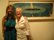 "Thumbnail image of ""Karen & Paige Bart, co-partner of Tria Gallery, Chelsea, New York City"""