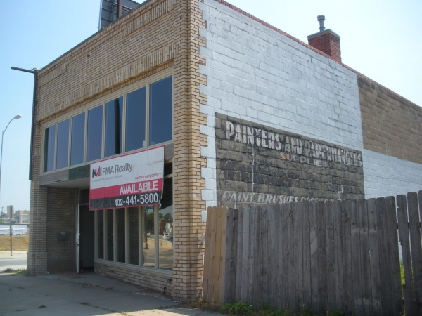 """Building at 21st & O Street, Lincoln, NE, for future home of Constellation Studios."""
