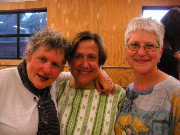 """In Santa Cruz, with Jane Gregorius and Betsey, July"""