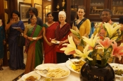 "Thumbnail image of ""Warm hospitality, great dinner party and guests, Dhaka, Bangladesh, May"""