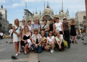 "Thumbnail image of ""Karen & the Italian Sojourn Group"""