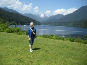 "Thumbnail image of ""Karen in the Capilano watershed, Vancouver, Canada"""