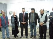 "Thumbnail image of ""Opening remarks and thanks, solo exhibition, Minia University"""