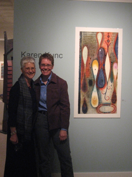 """Karen and Janet Ballweg, Hudson Gallery, Ohio"""