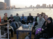 "Thumbnail image of ""American Artists and Egyptian friends in Cairo"""