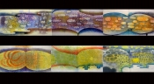 "Thumbnail image of ""Aqua Alta Series: Dawn, Bay, Swell, Spindrift, Inlet, Impending"""